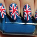 British Union Jack Nails