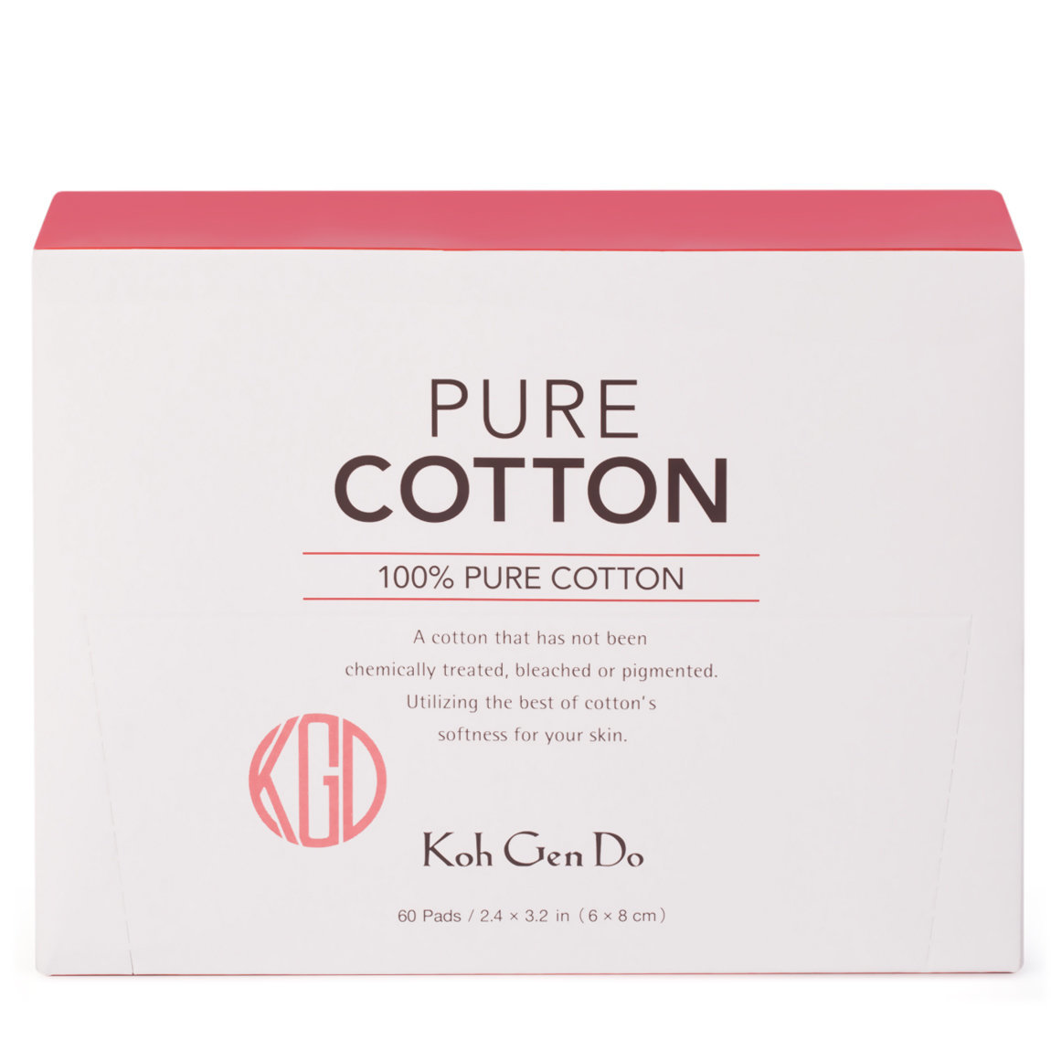 Koh Gen Do Pure Cotton product swatch.