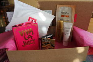 A look at my Birchbox this month. I put this box up againt my IPSY. Check to see which one was better at http://thedressychick.com