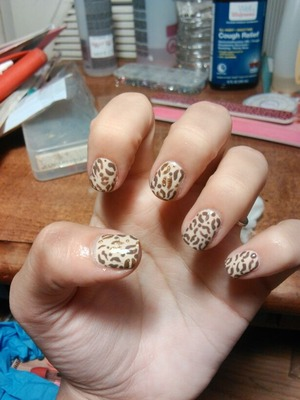 My Nails, Done By Me :)