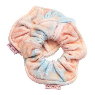 Microfiber Towel Scrunchies Sunset Tie Dye