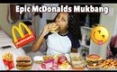Surprise Calling My Subscribers On Instagram| McDonalds Mukbang Eating Show!