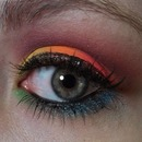 Sleek Acid Palette Look