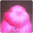 My Pink Sock Bun