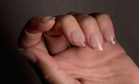Would You Wear See-Through Nails?