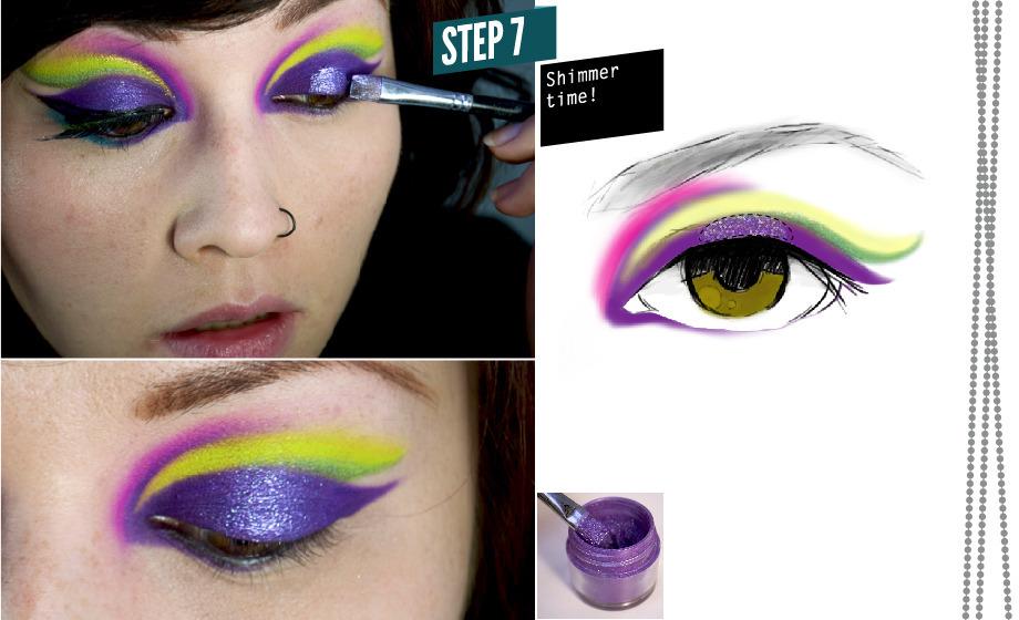 How To Mardi Gras Makeup Beautylish