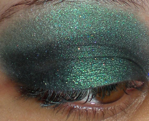 Eyes: Persephone Minerals Green EOTD