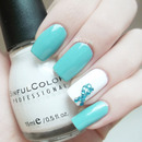PCOS Awareness Mani