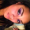 Loose Purple Glitter Eyeshadow