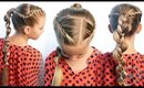 How To: French Rope Twist & Uneven Braid Combo | Pretty Hair is Fun