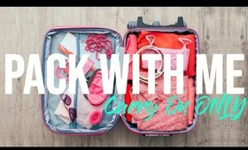 How To Pack A Carry On ONLY | TRAVEL HACKS You MUST KNOW !