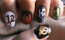 Hunger Games Nail Design- Hunger Games Nails- Nail Art- Nail Designs Tutorial