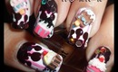Cupcake Ice-Cream Melted Chocolate 3D Nail Art BornPrettyStore.com Review+Tutorial