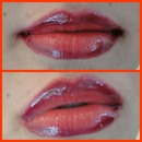 Luscious Red Ombre Lips