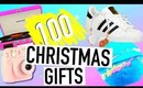 100 Christmas Gift Ideas For EVERYONE! Christmas Gift Guide 2016!