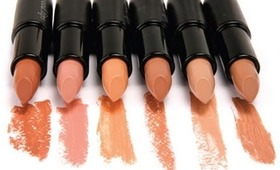 FAVORITE NUDE DRUG STORE LIPSTICKS
