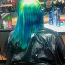 reverse yellow green ombre