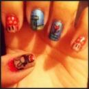 Super Mario nails (: