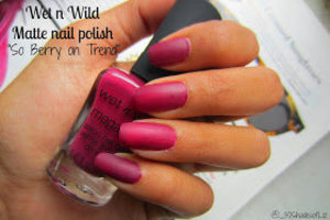 berry red matte nails check out my review: http://bit.ly/1pzZphQ
