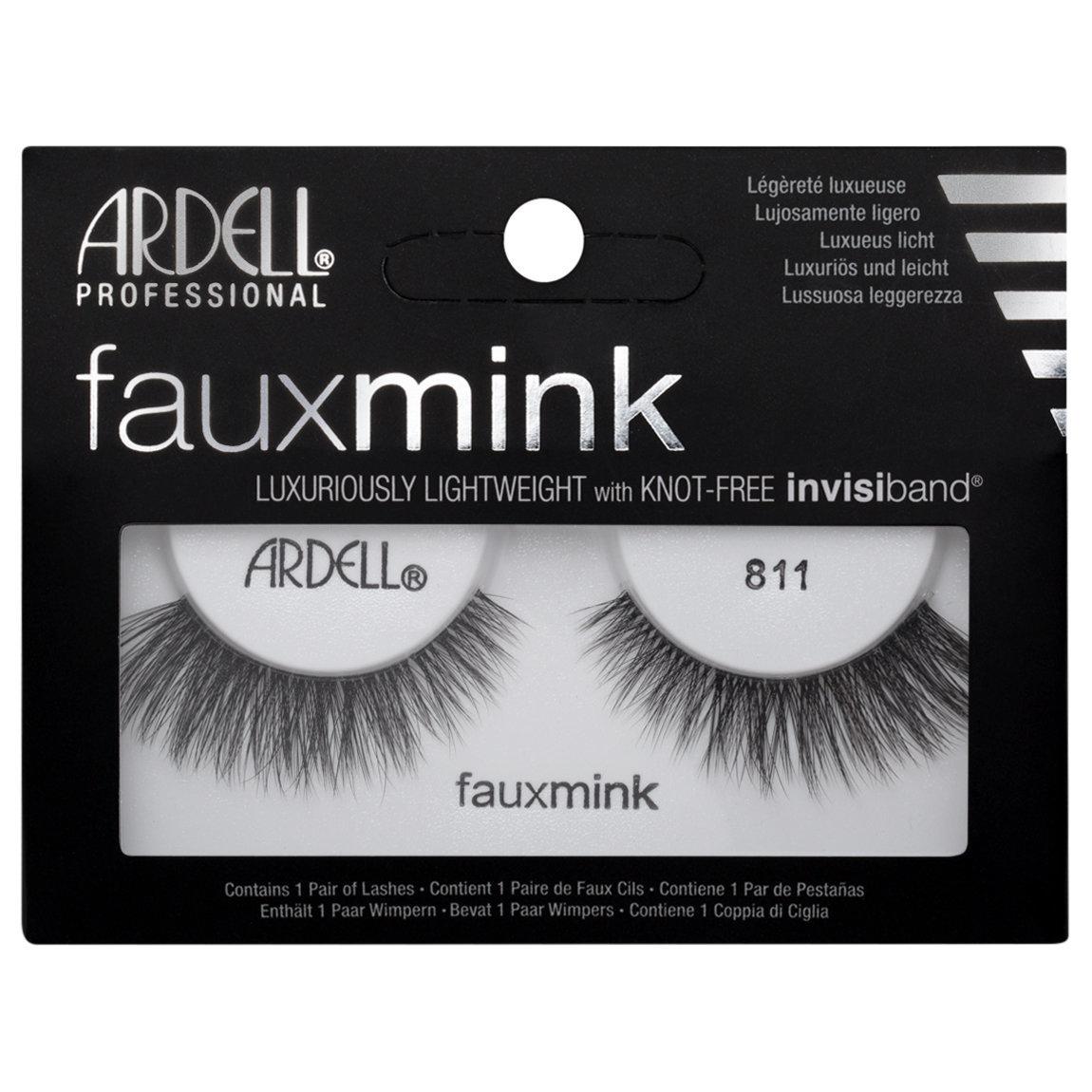 Ardell Faux Mink Lashes 811 Black Beautylish