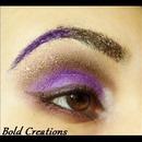 Chocolate/Purple Look
