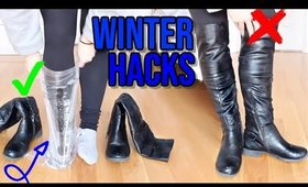 8 WINTER BEAUTY AND FASHION HACKS YOU MUST KNOW !!