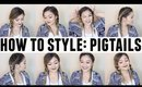HOW TO STYLE: PIGTAILS | JaaackJack