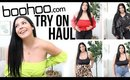 boohoo Try On Haul For All Sizes | sccastaneda