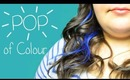 Get Ready With Me - Pop of Colour with Clip in Hair Extensions + Makeup | Instant Beauty ♡