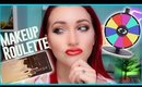 Too Faced Chocolate Gold Palette Review/Live Swatch + RANDOM MAKEUP ROULETTE TUTORIAL