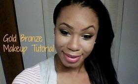 ♡ Golden Bronze Makeup Tutorial ♡