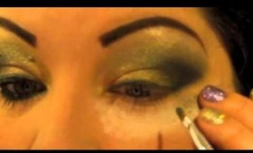 Green with Envy- Maybelline look