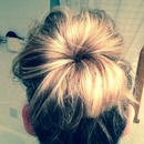 Supposed to be a messy bun!
