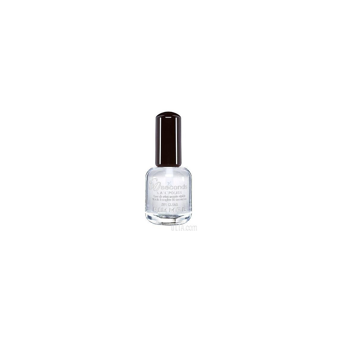Rimmel London 60 Seconds Nail Polish Clear 581 | Beautylish