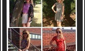 Summer Lookbook 2014|