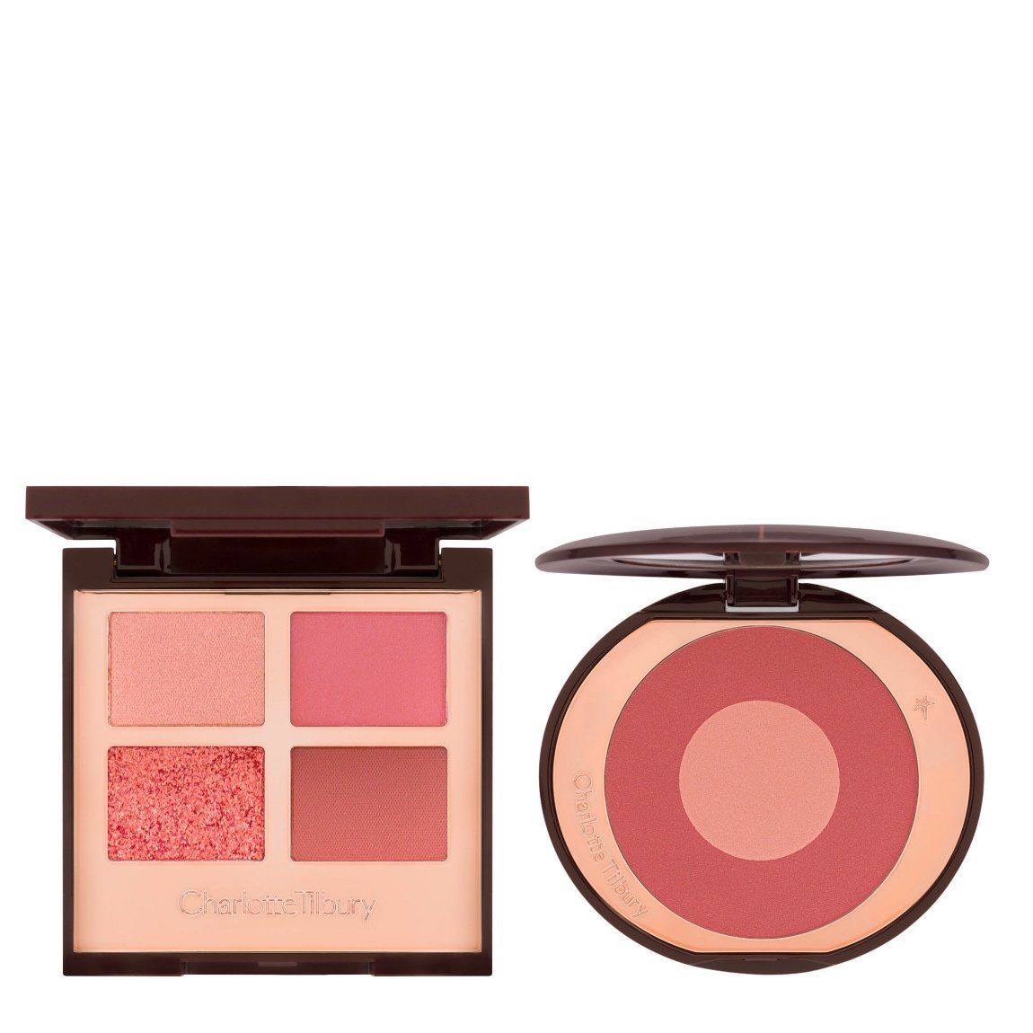 Charlotte Tilbury The Pillow Talk Eye & Blush Duo alternative view 1 - product swatch.