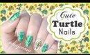 Cute Turtle Nail Art Tutorial
