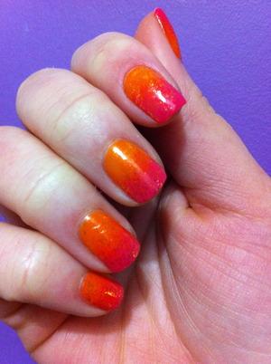 Orange-pink gradient.