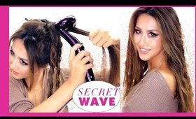 5-Minute SECRET WAVE ★ LAZY Beachy Curls ★ MakeupWearables Hairstyles