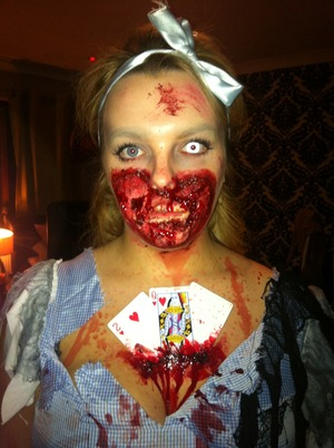 Did this to myself on Halloween!! Thoughts??