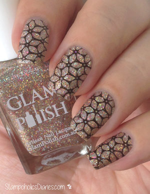 http://stampoholicsdiaries.com/2015/04/18/glitter-nails-with-glam-polish-welcome-to-the-60s-and-mj-jr-16/