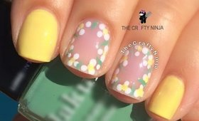 Flower Border Nail by The Crafty Ninja