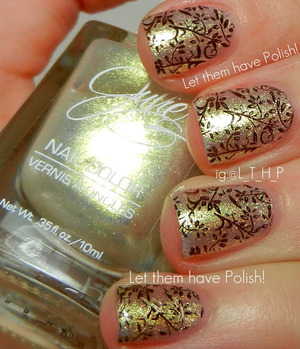 A delicate look with Julie G Nail polish
