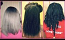 My Relaxed To Texlaxed Hair Journey From SL To MBL 2010 - 2014