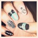 Audrey Hepburn nails