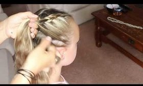 How To: Double Touch Braid / Plait for Girls | Primp Powder Pout