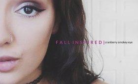 Cranberry Smokey Eye | Fall Inspired