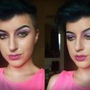 Purple & Yellow Liner