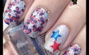 Incoco Fourth of July Nails by The Crafty Ninja