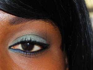 This is a Bare Minerals Look. Hope you like it.